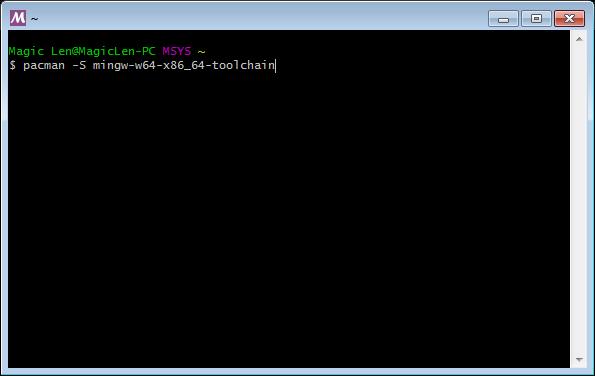 在Windows安裝MSYS2,讓Windows也能使用GNU的軟體開發工具| MagicLen