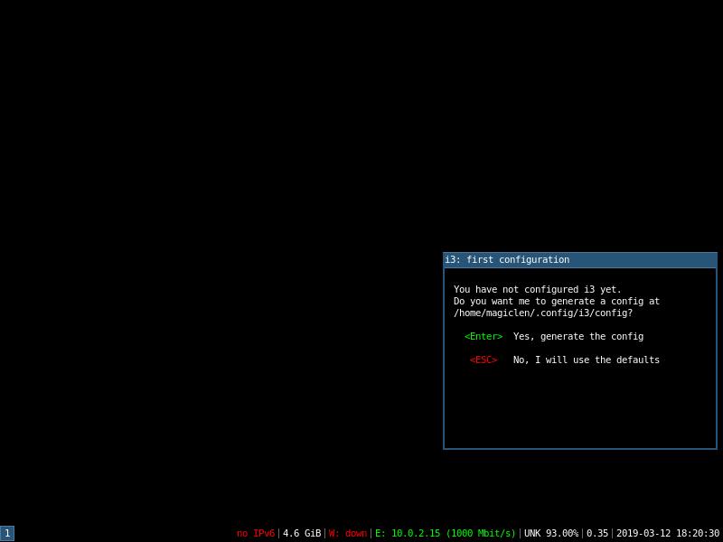 在Ubuntu Server安裝i3視窗管理器,讓Ubuntu Server擁有極輕量的